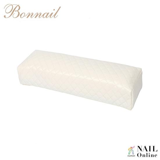 【Bonnail】 キルティング柄アームレスト ロング ホワイト