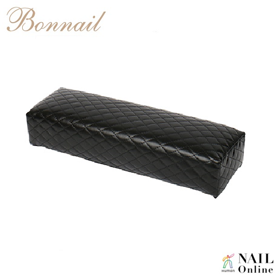 【Bonnail】 キルティング柄アームレスト ロング ブラック