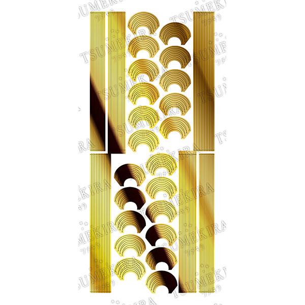 【TSUMEKIRA】 cranberry nailプロデュース2 デザインラインテープ ゴールド