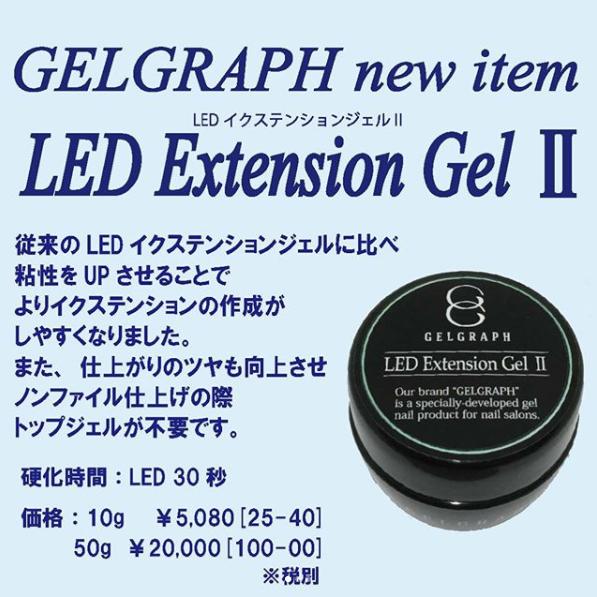 【GELGRAPH】 LEDイクステンションジェル2 10g