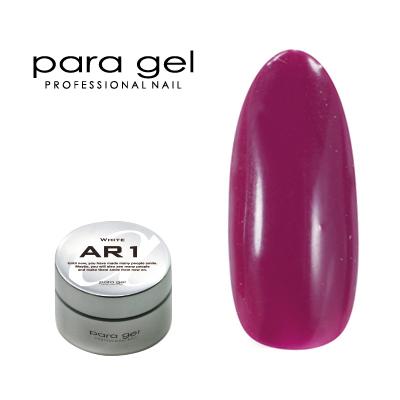 【para gel】 AM26 アートカラージェル 4g <マット> ワイン