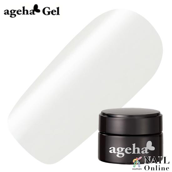 【ageha Gel】 コスメカラー 100 (シアー 濃度1)ピュアホワイト 2.7g