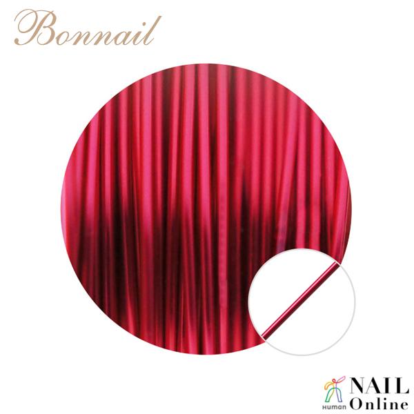 【Bonnail】 カラーワイヤー ピンク 10m