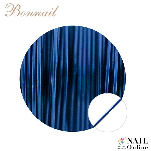 【Bonnail】 カラーワイヤー ブルー 10m
