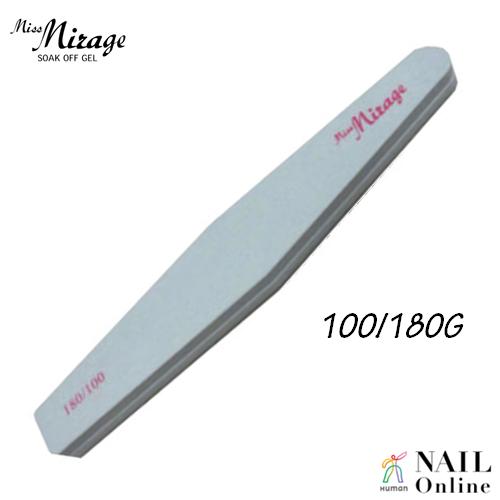 【MissMirage】 ダイヤモンドスポンジファイル 100/180G