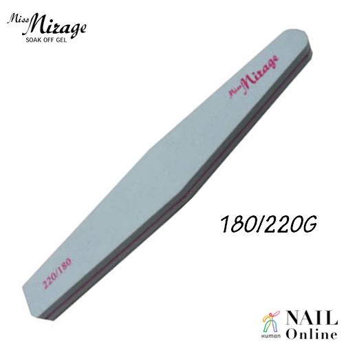 【MissMirage】 ダイヤモンドスポンジファイル 180/220G