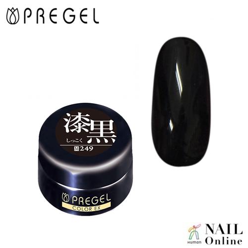 【PREGEL】 【マット】 4g カラーEX  PG-CE249  漆黒