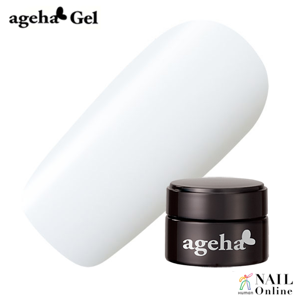 【ageha Gel】 コスメカラー (シアー 濃度2) ホワイトグラデ 2.7g