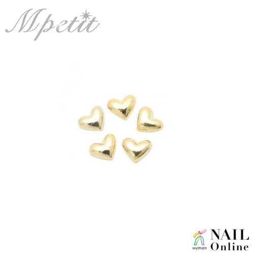 【Mpetit】 A139 タイニーハート 5個組  4×3mm