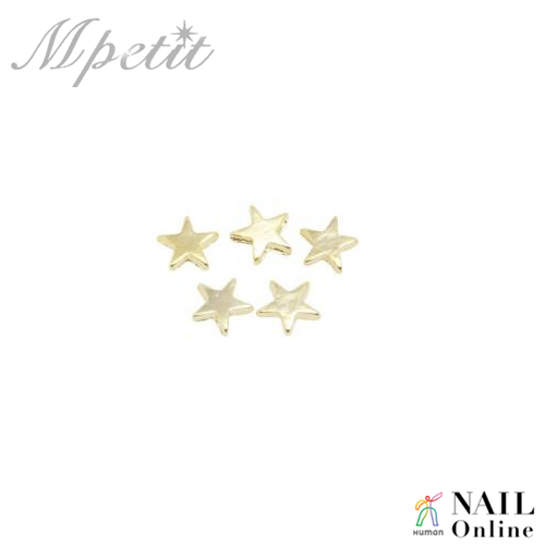 【Mpetit】 A141 タイニースター 5個組  4×4mm