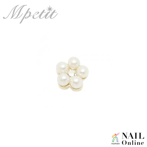【Mpetit】 A152 パールモチーフ ミニ  1P  3×4mm