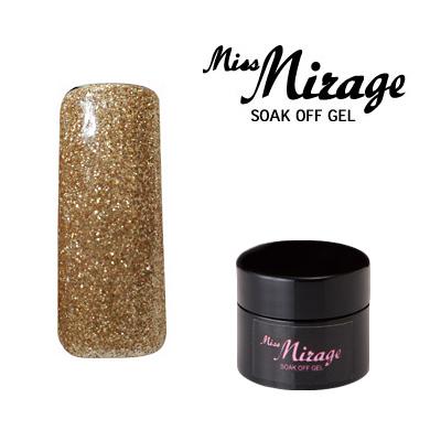 【MissMirage】 D02S ディメンション ゴールド (グリッター) 2.5g