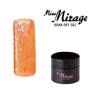 【MissMirage】 G3S  Lオーロラオレンジ (ホロ・グリッター) 2.5g