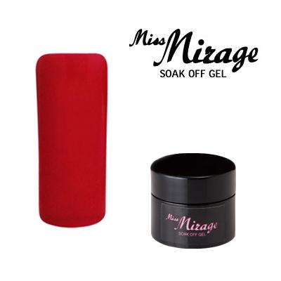 【MissMirage】 E1S  アップルレッド (マット) 2.5g【検定色】