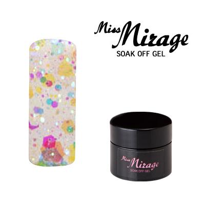 【MissMirage】 G1S  Lオーロラクリア (ホロ・グリッター) 2.5g