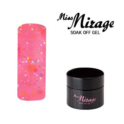 【MissMirage】 G6S  Lオーロラストロベリーピンク (ホロ・グリッター) 2.5g