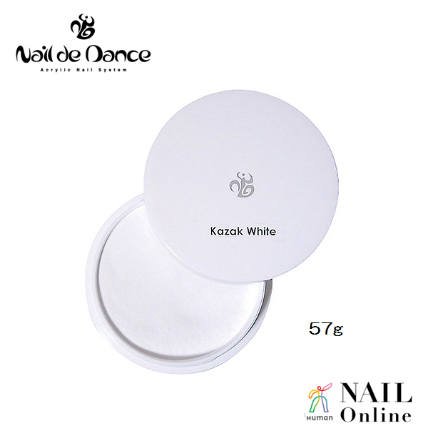 【Nail de Dance】 パウダー コサックホワイト 57g