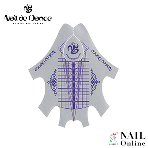 【Nail de Dance】 プレミアムラージ フォーム100枚