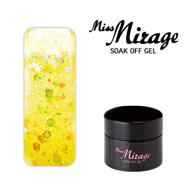 【MissMirage】 G2S  Lオーロラレモン (ホロ・グリッター) 2.5g