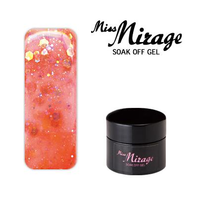 【MissMirage】 G4S  Lオーロラカプリ (ホロ・グリッター) 2.5g