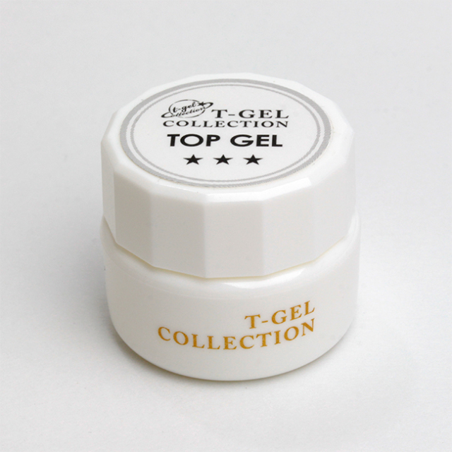 【T-GEL COLLECTION】 トップジェル 4ml 【NEW】
