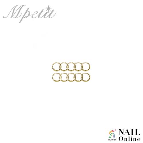 【Mpetit】 B122 ストーンリング ゴールド 10P  3mm