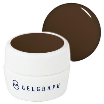 【GELGRAPH】 カラージェル 27M 5g ノルマンディーコーヒー (マット)