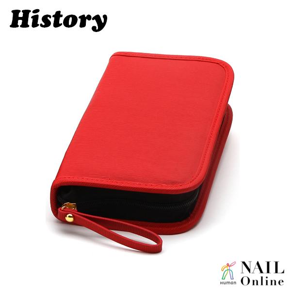 【History】 ニッパー&筆ケース レッド NBC-R