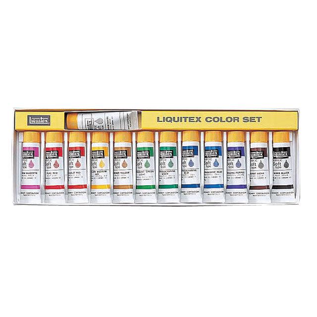 【Liquitex】 カラーセット 13色(S1セット)