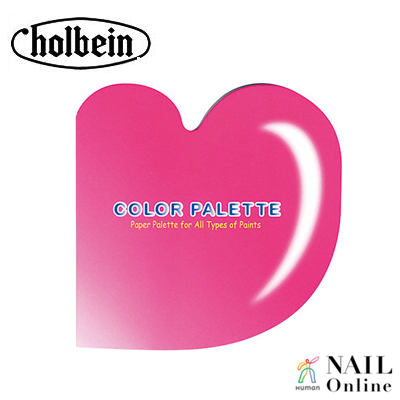 【holbein】 ペーパーパレット ミニ ハート型