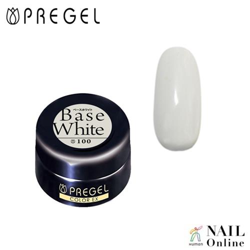 【PREGEL】 【シアー】 4g カラーEX  PG-CE100  ベースホワイト
