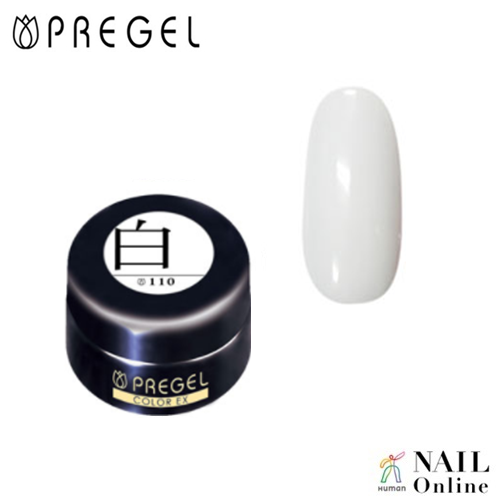 【PREGEL】 【マット】 4g カラーEX  PG-CE110  白  【検定おすすめ】