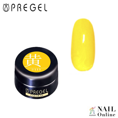 【PREGEL】 【マット】 4g カラーEX  PG-CE113  黄