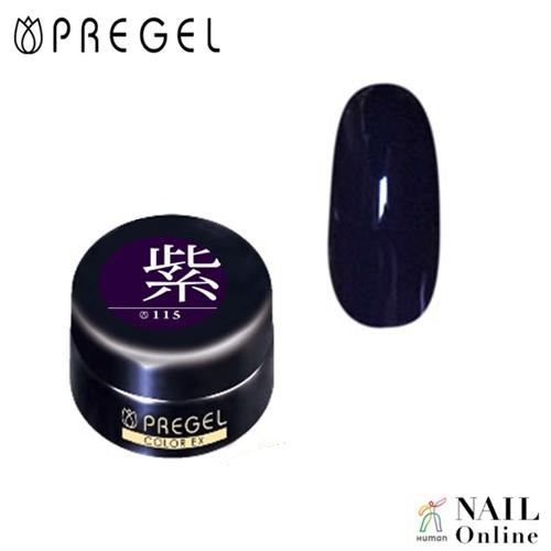 【PREGEL】 【マット】 4g カラーEX  PG-CE115  紫
