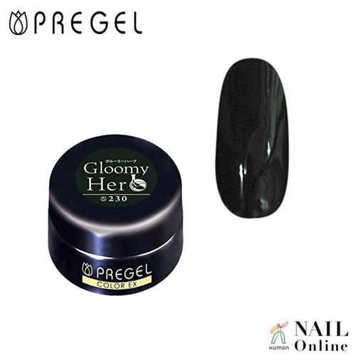 【PREGEL】 【マット】 4g カラーEX  PG-CE230  グルーミーハーブ