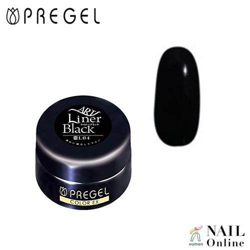 【PREGEL】 【マット】 4g  カラーEX  PG-CEL04  ライナーブラック