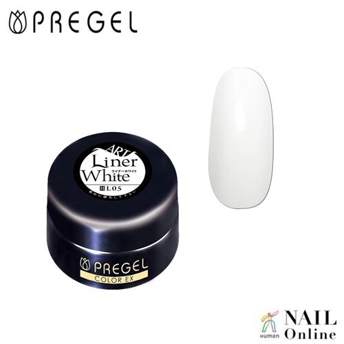 【PREGEL】 【マット】 4g  カラーEX  PG-CEL05  ライナーホワイト