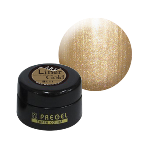 PREGEL カラーEX 【パール】 PG-CEL11 4g ライナーゴールド-P