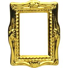 Pieadra フレーム ゴールド 8p 背面カーブあり 8mm×5.5mm