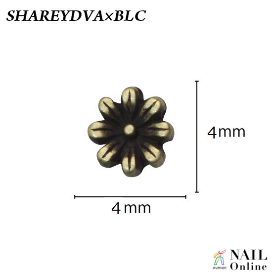 【SHAREYDVA×BLC】 ネイルパーツ アンティークフラワーM 5P