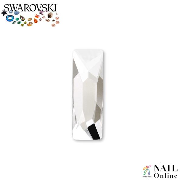 【SWAROVSKI】 #2555 コズミックバゲット クリスタル 8×2.6mm 6P