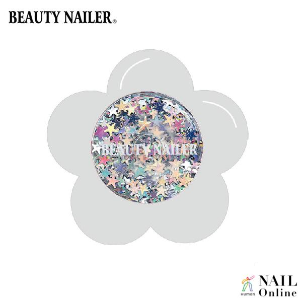 【BEAUTY NAILER】 ラメラメ FG-35 メタリックシルバースター