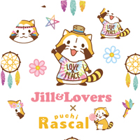 ツメキラ ラスカル ネイルシール Jill & Lovers