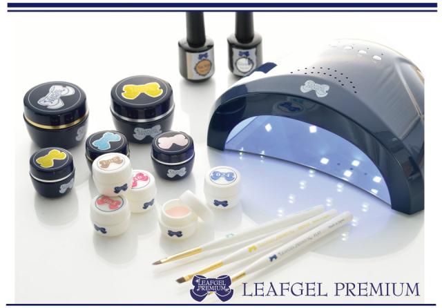 【LEAFGEL PREMIUM】 デュアルウェーブLEDライト