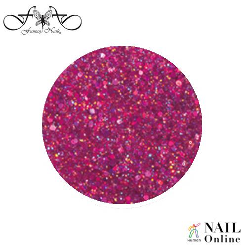 【Fantasy Nails】 カラーパウダー ダイヤモンドコレクション #4260 フューシャ 3g