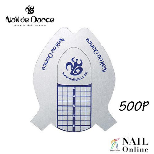 【Nail de Dance】 スクエアフォーム 500枚