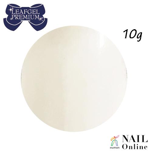 【LEAFGEL PREMIUM】 カラージェル 003P 10g ブランシュ・ネージュ (パール)