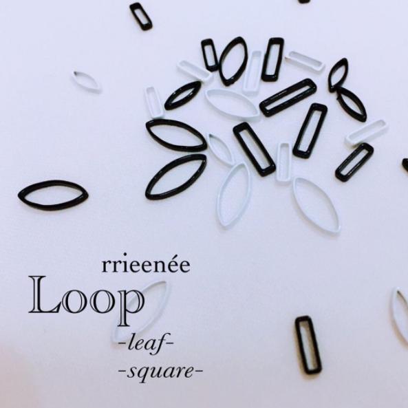 【Bonnail×RieNofuji】 Loop Mquare M ブラック 6P