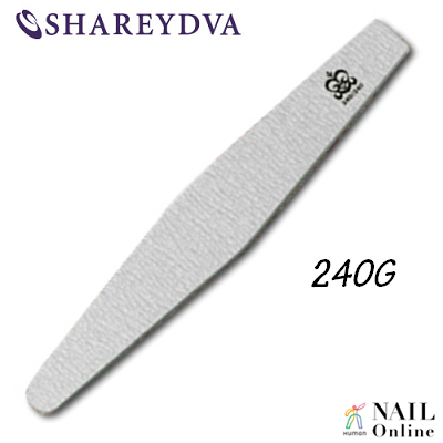 【SHAREYDVA】 (旧MICREA) ファイル ダイヤ型 240G 1本 【検定】