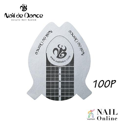 【Nail de Dance】 ラウンドフォーム 100枚